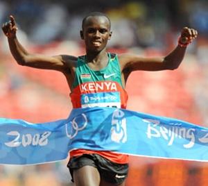 마라톤 우승자, 사무엘(케냐)