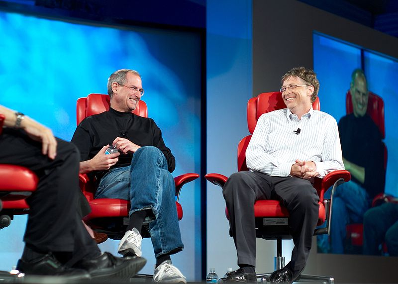 스티브 잡스와 빌 게이츠