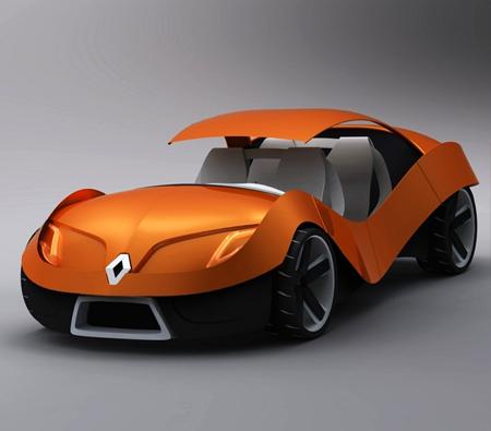 르노 E0 미래자동차 태양전지패널 컨셉 It 얼리어답터 디자인 휴대폰 컴퓨터 카메라 자동차 게임