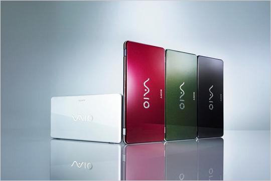 CES2009에서 세계 최초로 발표된 8인치 포켓스타일 PC VAIO P 시리즈