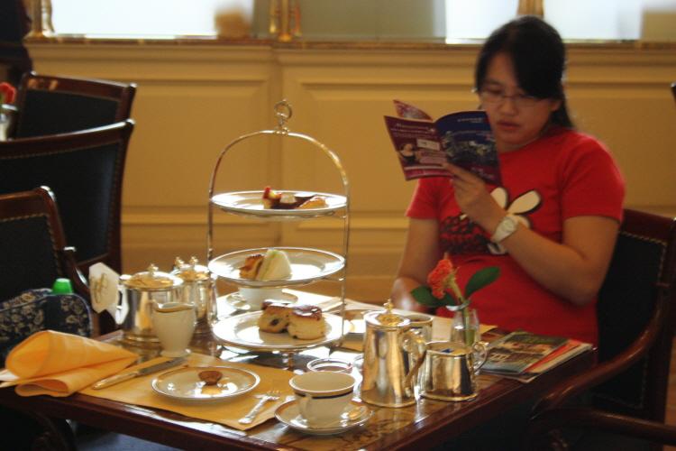 페닌슐라 호텔의 Afternoon Tea