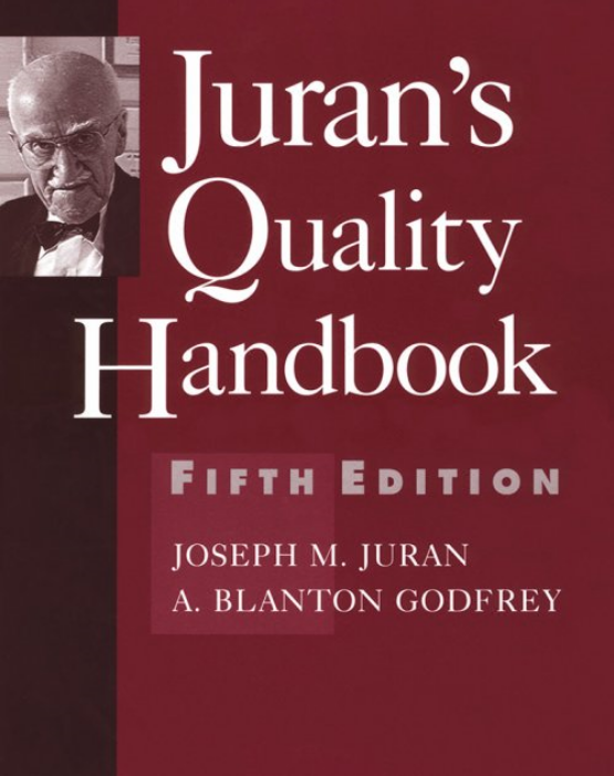 출처: http://www.amazon.com/Quality-Handbook-McGraw-Hill-International-Editions/dp/0071165398/ref=sr_1_1?ie=UTF8&s=books&qid=1228867990&sr=1-1
