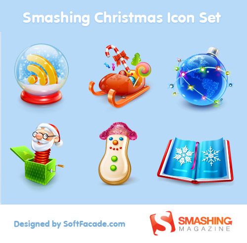 무료 Christmas Icon Sets