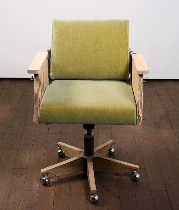 tree trunk office chair