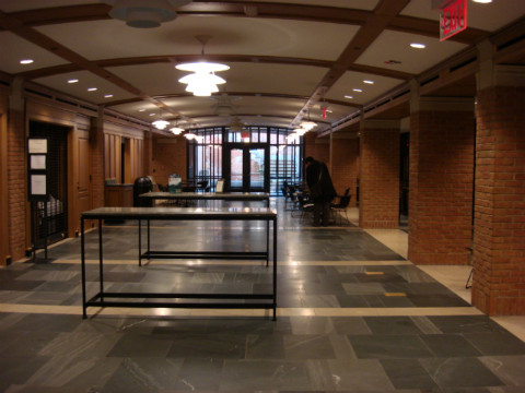 Yale Bass Library Room Reservation