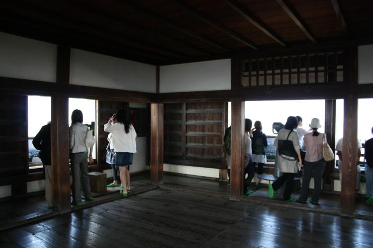 마쓰야마성 천수각 망루