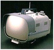세계 최초의 휴대 트랜지스터 TV. TV8-301