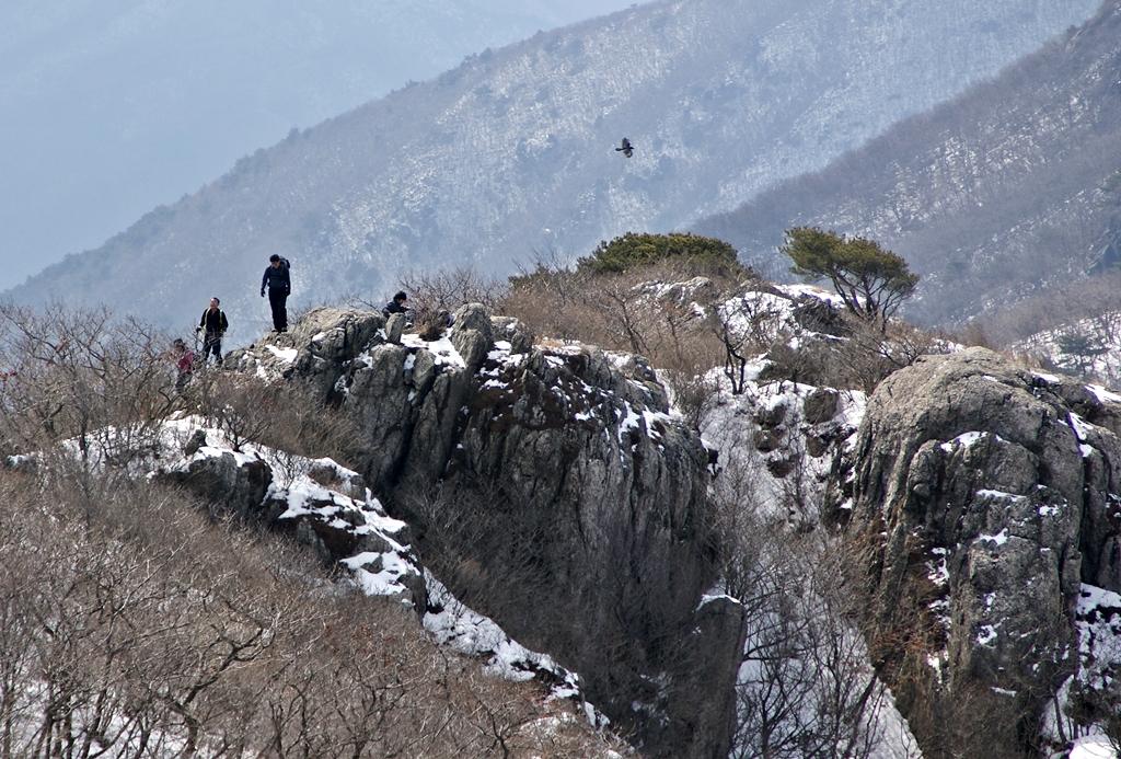부엉이바위 천성산
