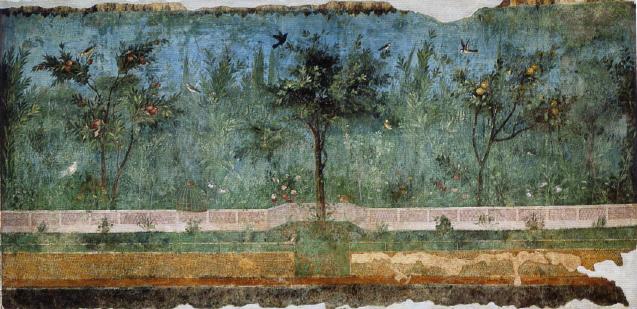 Villa der Livia in Primaporta, Gartenraum