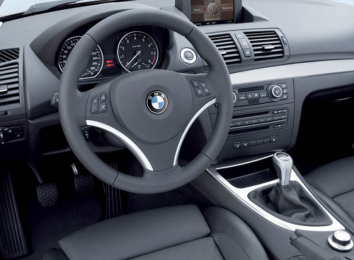 BMW 1 Series Cockpit