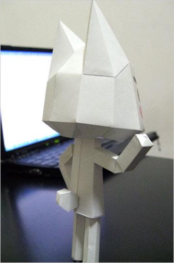 [페이퍼 크래프트] 소니 캣, 토로[TORO]를 종이 공작으로 만나보세요