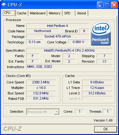 cpu 정보보기, CPU-Z, cpu-z 1.49, CPUID, cpuz, cpuz 1.49, cpu사양, 하드웨어, 하드웨어 정보
