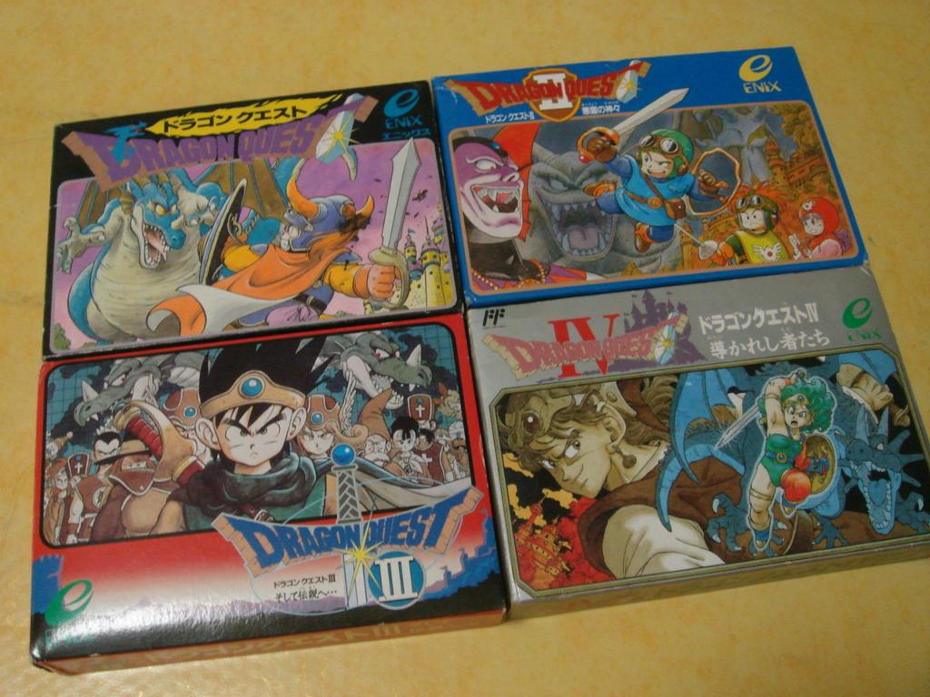드래곤퀘스트 시리즈 일본가서 나머지 사와서 컬렉션완성!
