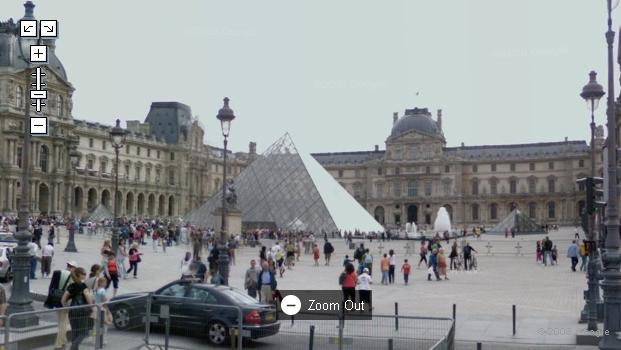 프랑스 스트릿뷰(Street View) : 루부르 박물관