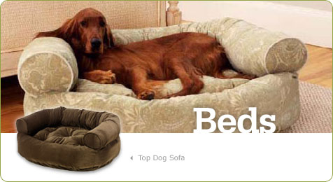 Washable Bolster Dog Bed