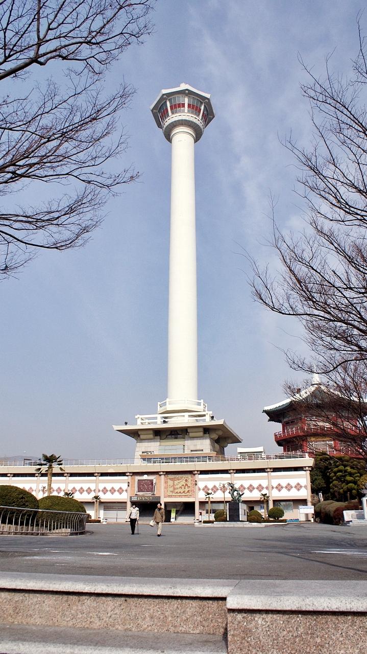 용두산공원 부산관광