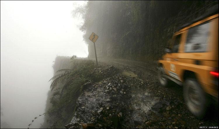 세계에서 가장 위험한 길(Road of Death) 5군데