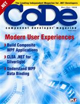 Cover Image of CoDe Magazine, Nov/Dec 2008
