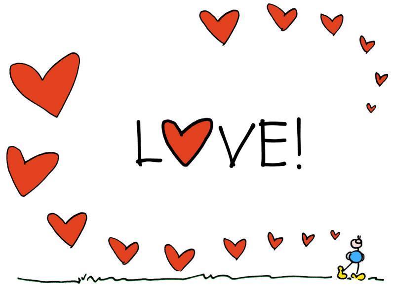 하트, 사랑, 장미, 초콜렛 고화질 이미지
