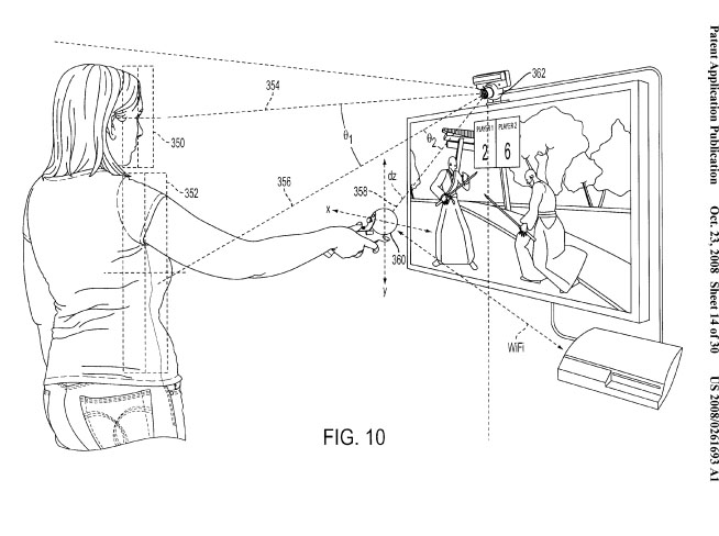 Motion Tracking Game Controller from Sony