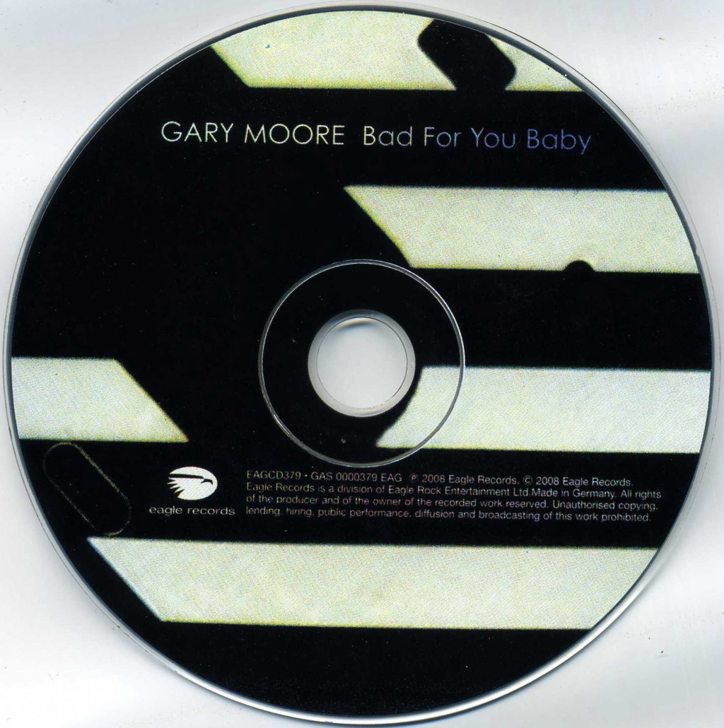 changgo diary gary moore bad for you baby 2008. Black Bedroom Furniture Sets. Home Design Ideas