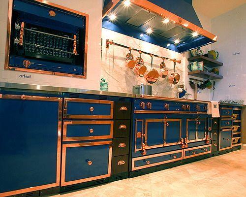 Kitchen Cobalt And White