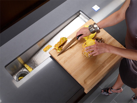 Integrated Handle Kitchen Doors