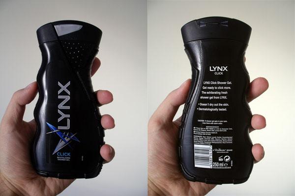 Lynx Click - Shower Gel for Digital Age?