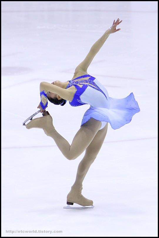 2008 전국남녀 회장배 피겨 스케이팅 랭킹대회 여자싱글 김채화 선수의 FS