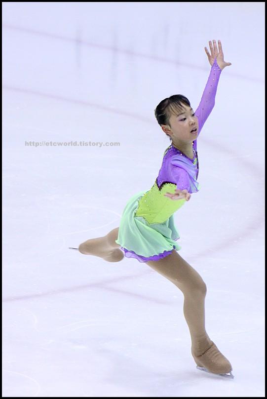2008 전국남녀 회장배 피겨 스케이팅 랭킹대회 여자싱글 김나연 선수의 FS