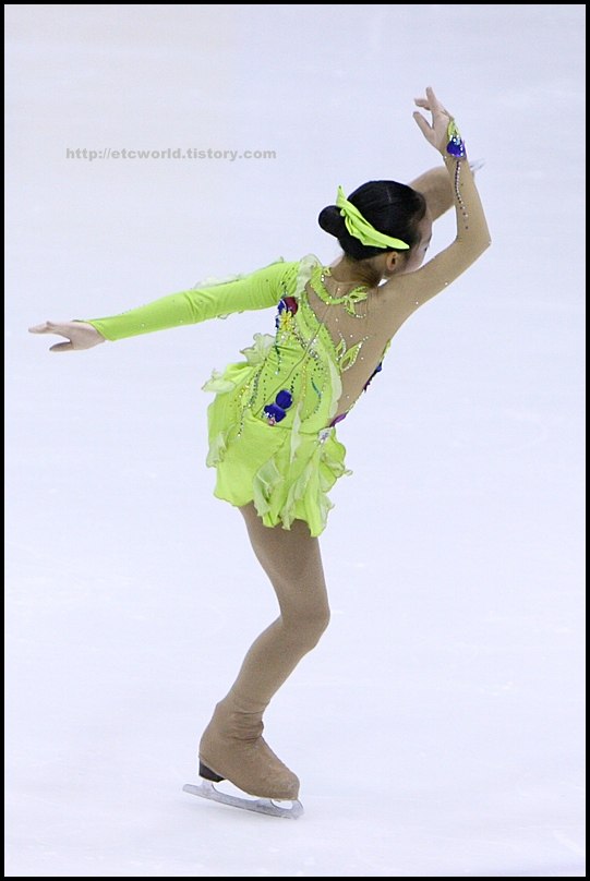 2008 전국남녀 회장배 피겨 스케이팅 랭킹대회 여자싱글 최휘 선수의 FS