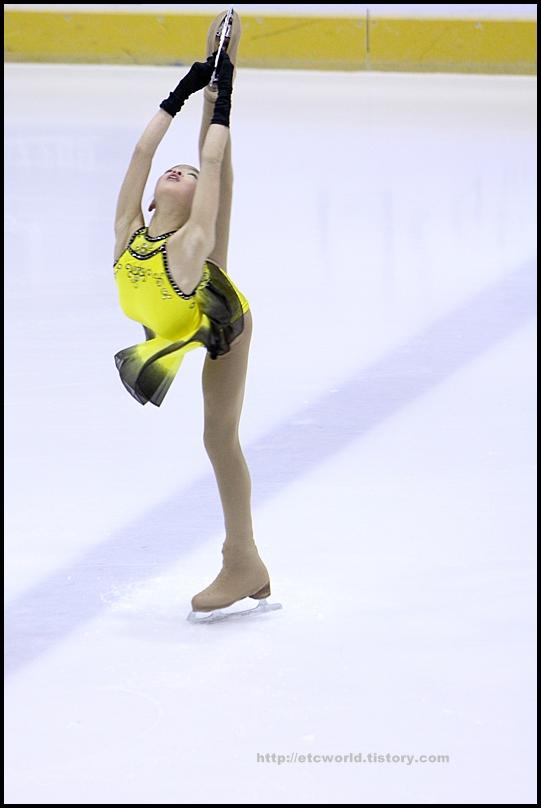 2008 전국남녀 회장배 피겨 스케이팅 랭킹대회 여자싱글 박연준 선수의 FS
