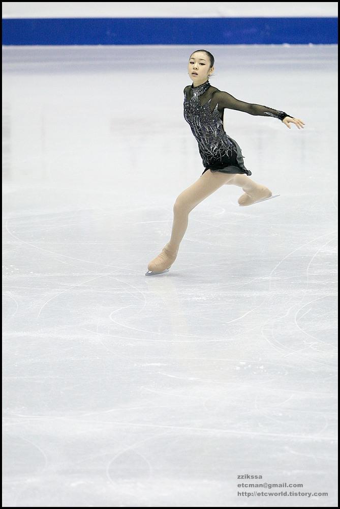 Yu-Na KIM (김연아) at 'SBS ISU Grand Prix of Figure Skating Final Goyang Korea 2008/2009' Senior Women - Short Program